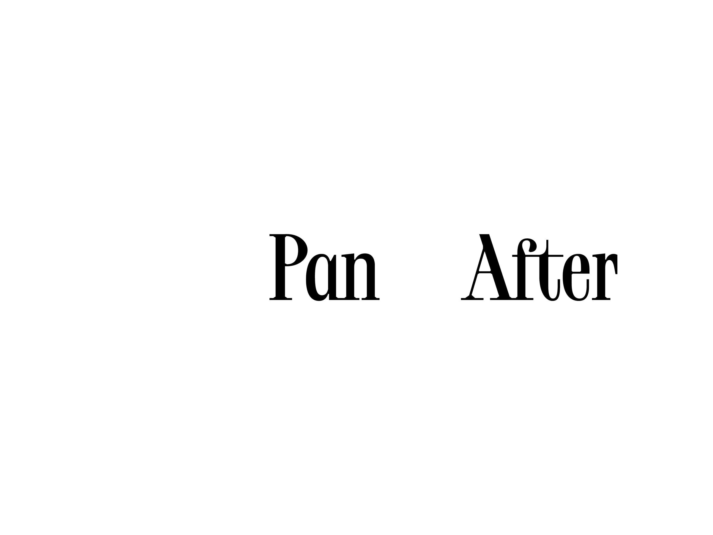 Pan After
