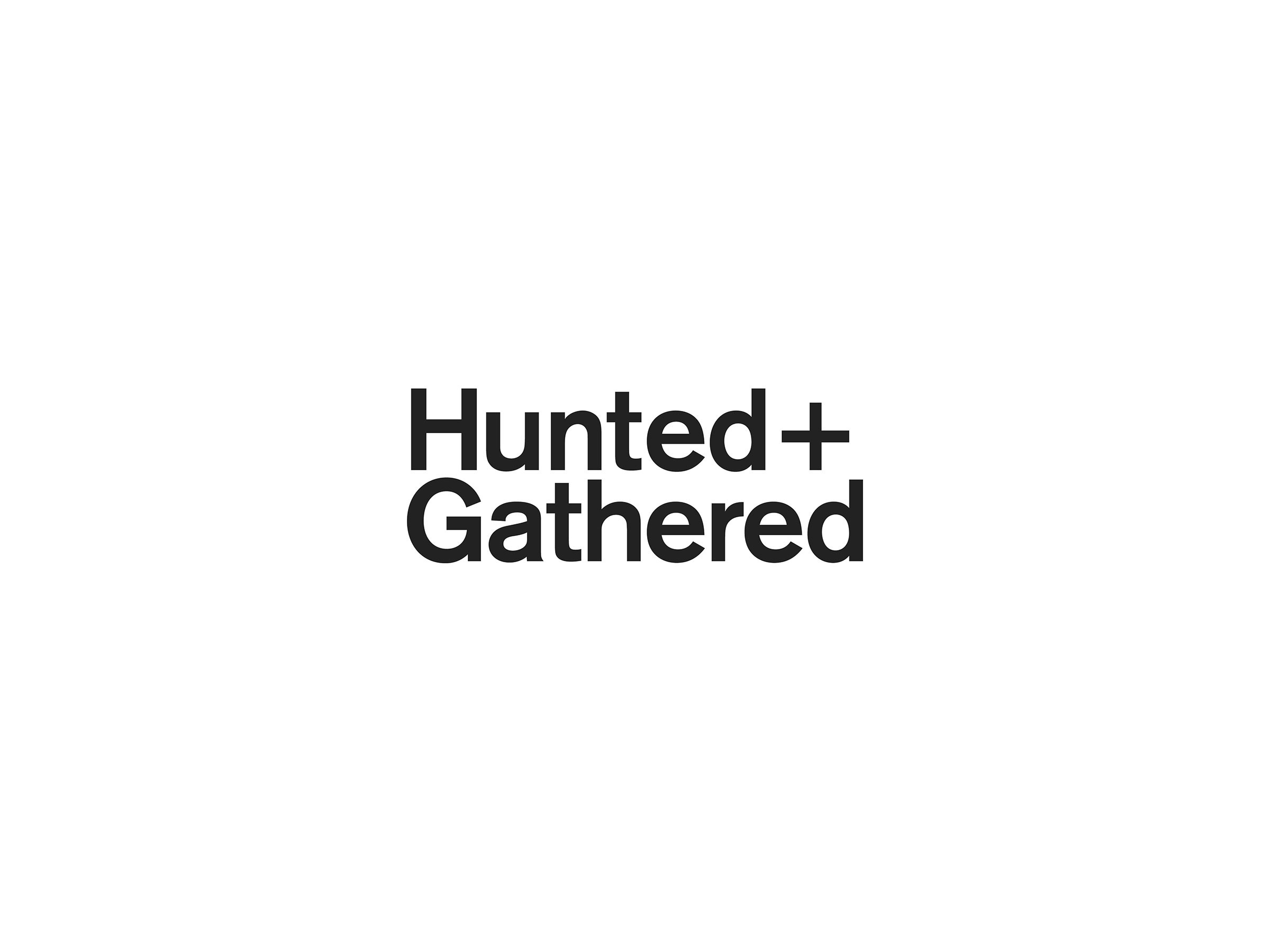 Hunted + Gathered