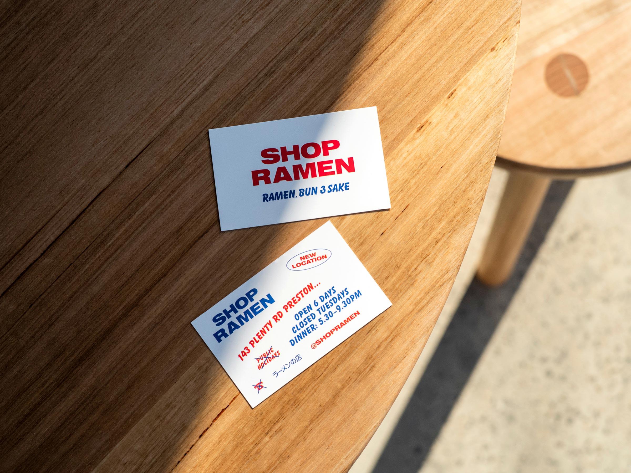 Shop Ramen